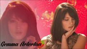 "Gemma Arterton ""Strawberry"" Widescreen Wallpaper"