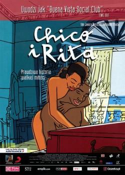 Przód ulotki filmu 'Chico i Rita'