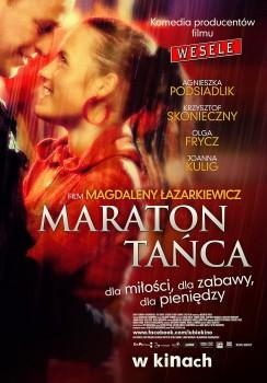 Polski plakat filmu 'Maraton Tańca'