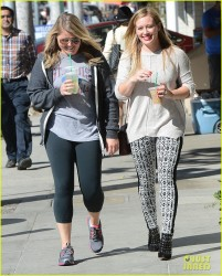 Hilary Duff - Out in Beverly Hills 10/7/13