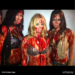 Alexa Vega - Machete Kills Behind The Scenes Pic