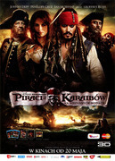 Przód ulotki filmu 'Piraci Z Karaibów: Na Nieznanych Wodach'