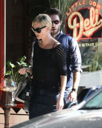 Charlize Theron - out in Los Feliz 10/14/13