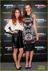 Vanessa Hudgens & Miranda Kerr - Unbound Access Event in NYC 10/15/13