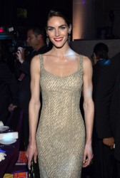 Hilary Rhoda - Elton John AIDS Foundation Benefit in NY 10/15/13