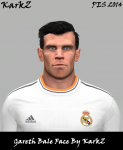 download PES 2014 Gareth Bale Face By KarkZ