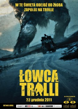 Przód ulotki filmu 'Łowca Trolli'