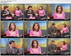 DARYA FOLSOM kron4 newsbabe - couch segment - 10.20.05