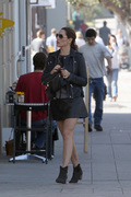 Kelly Brook - out in LA 10/20/13