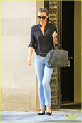 Miranda Kerr - out in NYC 10/21/13