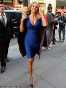 Christie Brinkley - great cleavage, great body @ Today Show  in NYC 10/21/13