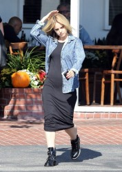 Mena Suvari - out in West Hollywood 10/22/13