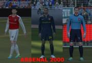 download pes 2014 Arsenal 2000 Kit Set by Falcao_9