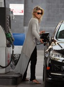 Ali Larter - at a gas station in West Hollywood 10/23/13