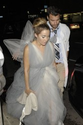 Lauren Conrad - Going to a Halloween Party in Hollywood 10/27/13
