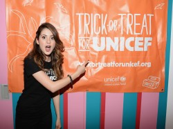 Laura Marano - 63rd Trick-or-Treat for UNICEF campaign in NYC 10/28/13