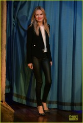 Kate Bosworth - 'Late Night with Jimmy Fallon' appearance in NYC 10/29/13