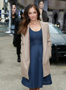 Minka Kelly -  FOX's 'Almost Human-hattan' experience in NYC 10/30/13