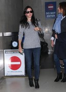 Courteney Cox - at LAX Airport 10/31/13
