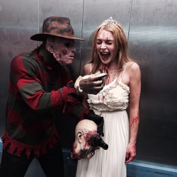 Lindsay Lohan at a Halloween Party at The Foxwoods Resort Casino in Foxwoods, Connecticut on October 31, 2013