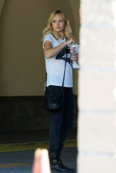 Malin Akerman - Leaving a doctors office in LA 11/1/13