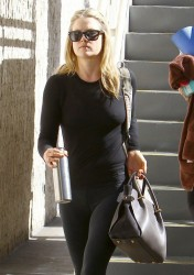 Ali Larter - at the gym in West Hollywood 11/2/13