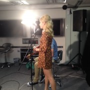 Pixie Lott - Channel V Asia Studios (Hong Kong) 20.10.13