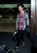 Kourtney Kardashian - Leaving LAX Airport 11/7/13