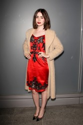 Lily Collins - Flaunt Magazine Party in Beverly Hills 11/7/13