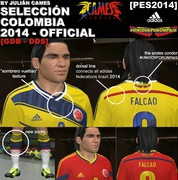 download Colombia Official Kit For Pes2014