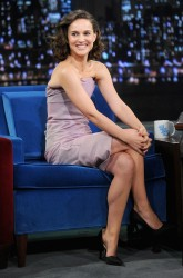 Natalie Portman - visits Late Night with Jimmy Fallon in NYC 11/8/13