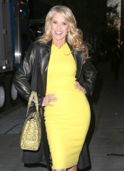 Christie Brinkley - leaving the Katie Couric Show in NYC 11/13/13