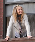 Cameron Diaz - on the set of 'Annie' in NYC 11/15/13