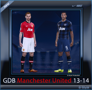 pes 2014 Manchester United F.C. 13-14 GDB by G-Style