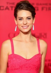 Lyndsy Fonseca - 'The Hunger Games: Catching Fire' premiere in LA 11/18/13