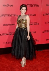 Isabelle Fuhrman - 'The Hunger Games: Catching Fire' Premiere in LA 11/18/13