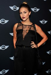 Cassie Scerbo - new MINI Hardtop unveiling in LA 11/19/13