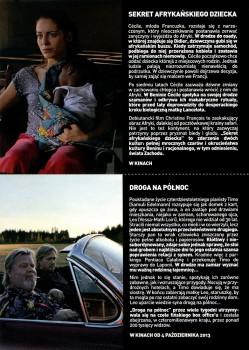 Tył ulotki filmu 'Sekret Afrykańskiego Dziecka'