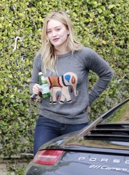 Hilary Duff - Out in West Hollywood 11/22/13