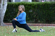 Carmen Electra - Working out outside Hollywood studio (11/14/13) x39