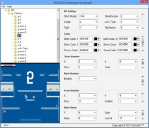 download PES 2014 Kit Manager v0.7