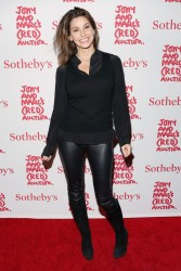 Gina Gershon - Jony & Marc's (RED) Auction in NYC 11/23/13