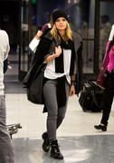Mena Suvari - at LAX Airport 11/24/13