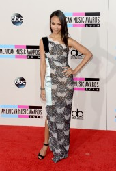 Zoe Saldana - 2013 American Music Awards in LA 11/23/13