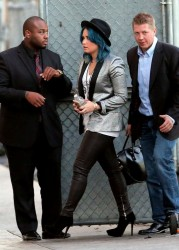 Demi Lovato - at Jimmy Kimmel Live! in Hollywood 11/24/13