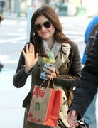 Lucy Hale - out in NYC 11/25/13