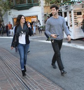 e45453291663346 [High Quality] Jessica Lowndes   at The Grove in LA 11/26/13 high resolution candids