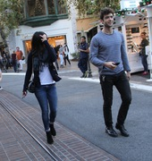 f7b220291663449 [High Quality] Jessica Lowndes   at The Grove in LA 11/26/13 high resolution candids