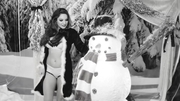 Kelly Brook in a Sexy Christmas Video For Love Magazine