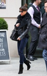 Lea Michele - out in NYC 12/3/13